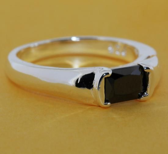 Faux Obsidian Ring