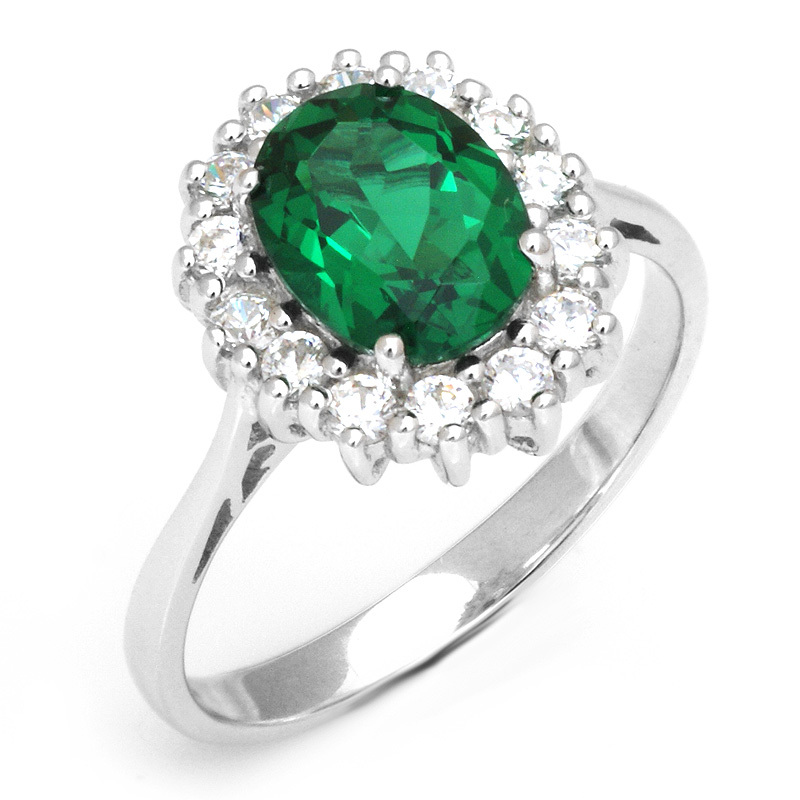 Russian Emerald Ring